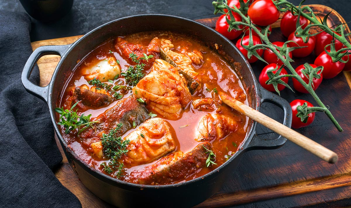 Italian-Sauced Fish