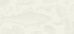 Saltwater Seafood Tan Background
