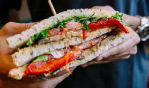 Saltwater Seafood Crab Sandwich